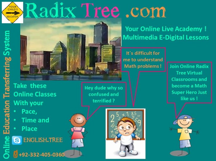 Mathematics|Home Tuition|Free Trial Lesson|KidsRadix Tree Online ...