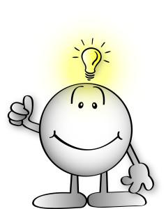 Fold Man Bright Idea