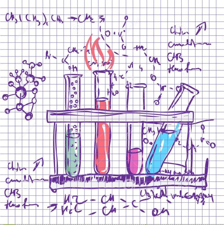 Science Laboratory Background Design: Chemistry SolutionRadix Tree Online Tutoring & Training