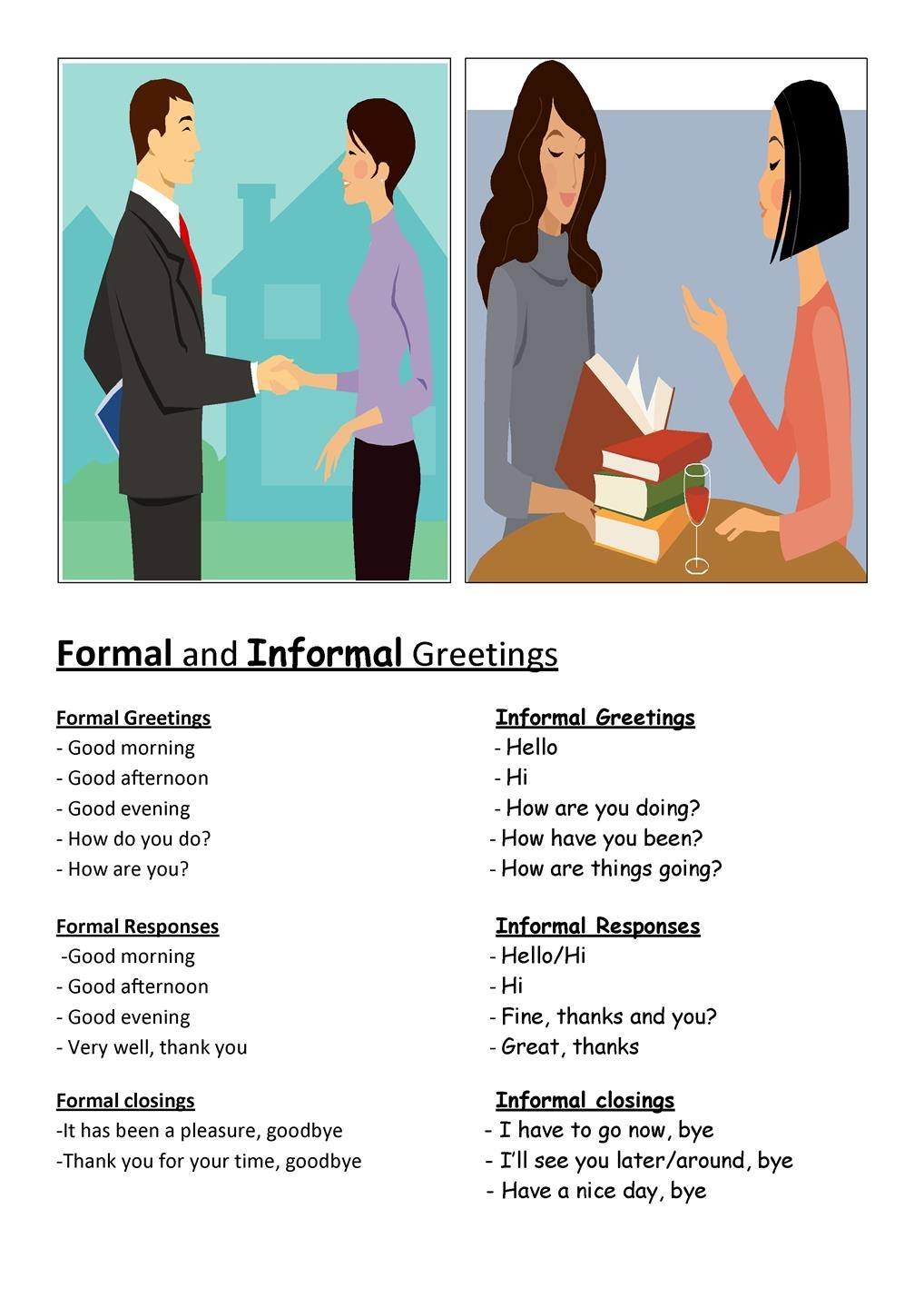 English Greeting Expressions Formal And Informal Radix Tree