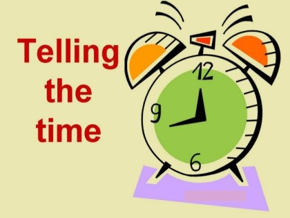 Learn how To Tell Time In English
