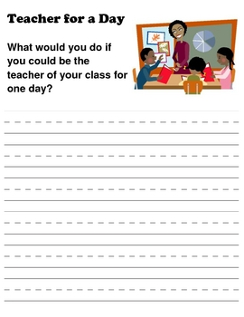 2nd Grade Wirting Prompts