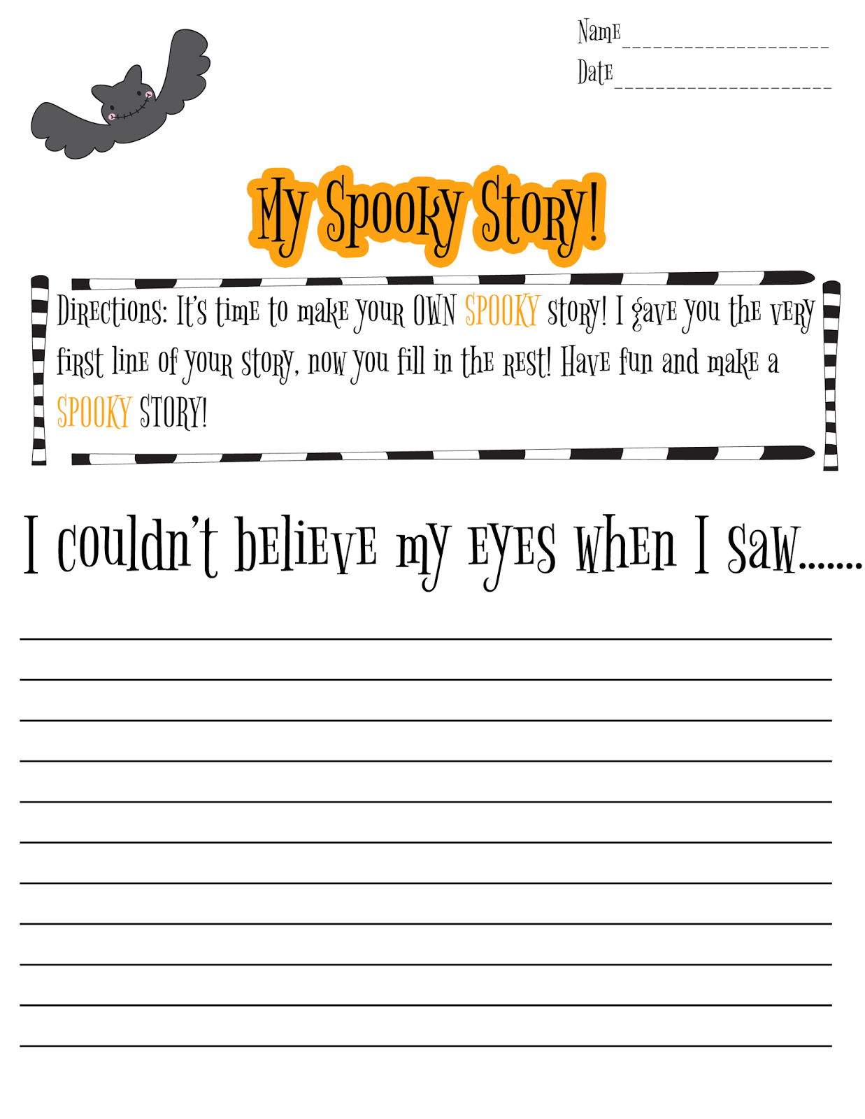 creative writing activities for 3rd graders