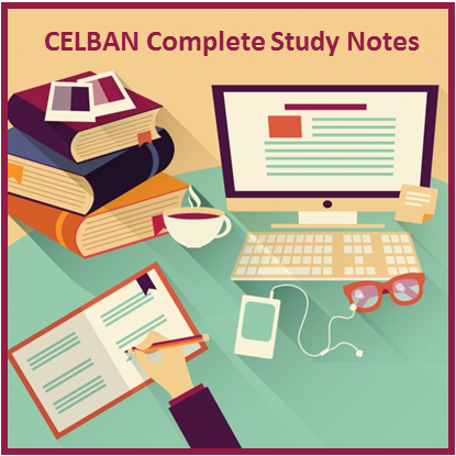 CELBAN-Study-Notes