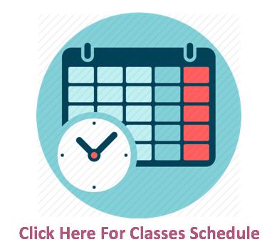 Radix Tree Classes Schedule